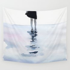 all around the sea Wall Tapestry
