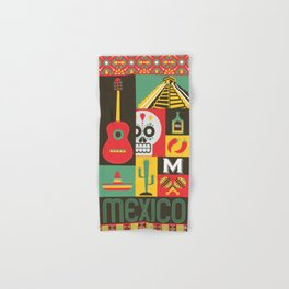 Mexico Hand & Bath Towel