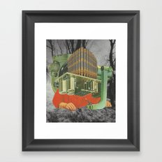 Autopsy Framed Art Print