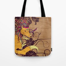 Spirit Happy Fox Tote Bag