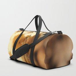 A Slug on a Mushroom Duffle Bag