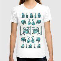 the mortal instruments T-shirts featuring Jazz instruments by what the ostrich