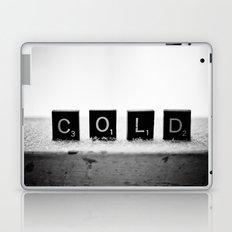 Cold Scrabble Tiles Laptop & iPad Skin