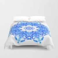 snowflake Duvet Covers featuring Snowflake by KAndYSTaR
