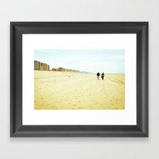 Am Meer Framed Art Print