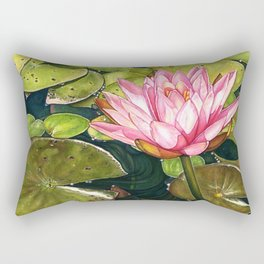 Water Lily at the Biltmore Gardens Rectangular Pillow
