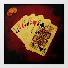 Ful de Damas (Dirty Poker) Canvas Print