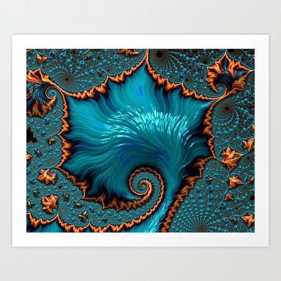 Ocean's Floor Art Print