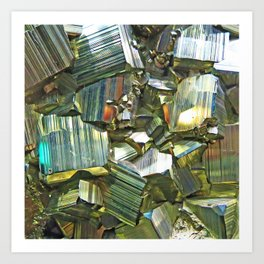 Pyrite Art Print