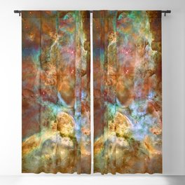 Mystic Mountains - Carina Nebula Astronomy Image Blackout Curtain