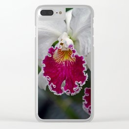 Cattleya Orchid Clear iPhone Case