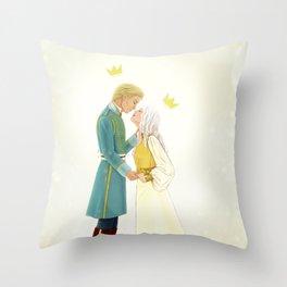 Nikolai and Alina Throw Pillow