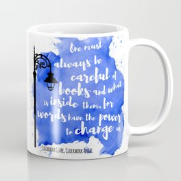 WORDS HAVE THE POWER TO CHANGE US | CASSANDRA CLARE Coffee Mug