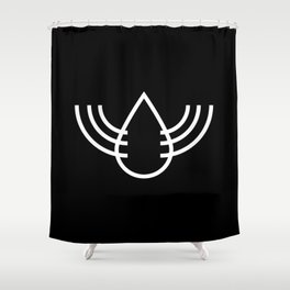 Your Secret is Safe with Great Waterfall Society™ Shower Curtain