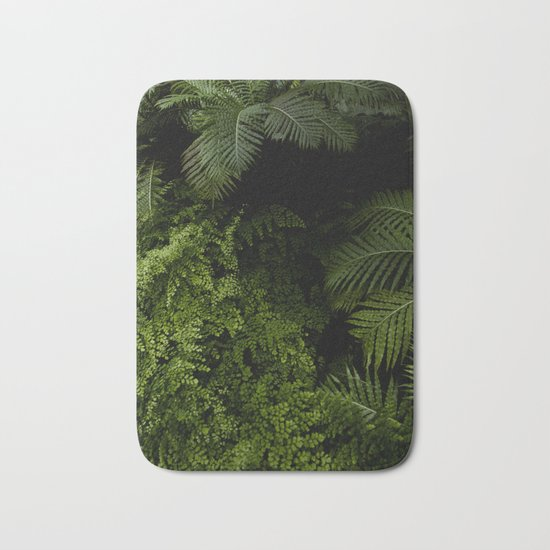 Tropical jungle. Bath Mat