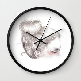 Loveland // Fashion Illustration Wall Clock