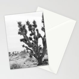 joshua tree bw Stationery Cards