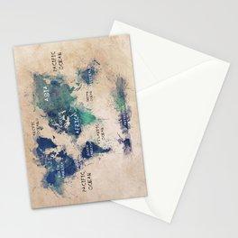world map 138 #worldmap #map Stationery Cards