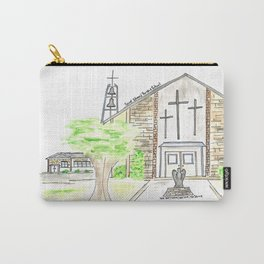 Saint Edward Parish & School Louisville, KY Watercolor Art Carry-All Pouch