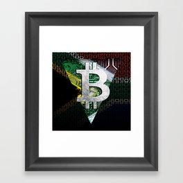 bitcoin South Africa Framed Art Print