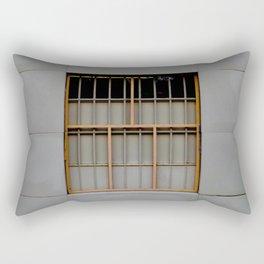 Bronze Bars Rectangular Pillow