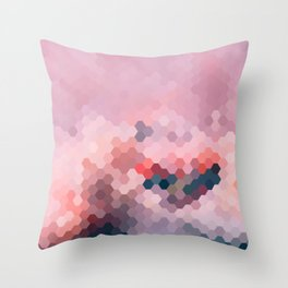 PINKY MINKY Throw Pillow