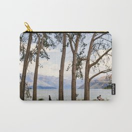 Lake Wanaka- Through the Trees Carry-All Pouch