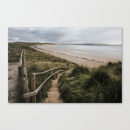 A day at the beach - Landscape and Nature Photography Canvas Print