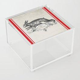 The Hare Acrylic Box