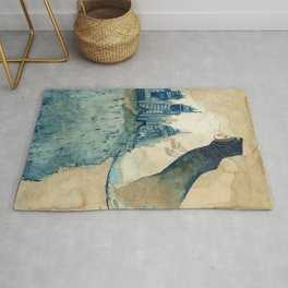 Breathing Life Into Ruins Rug