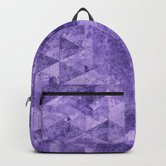 Abstract Geometric Background #17 Backpack