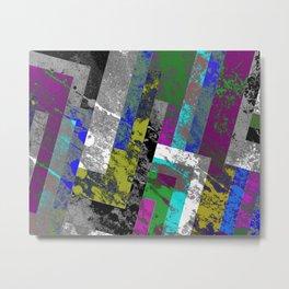 Textured Exclusion II Metal Print