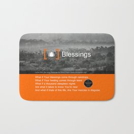 Blessings Bath Mat