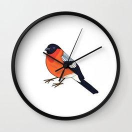 Ciuffolotto Wall Clock
