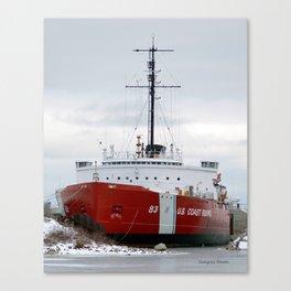 USCG Cutter Mackinaw 83 Canvas Print
