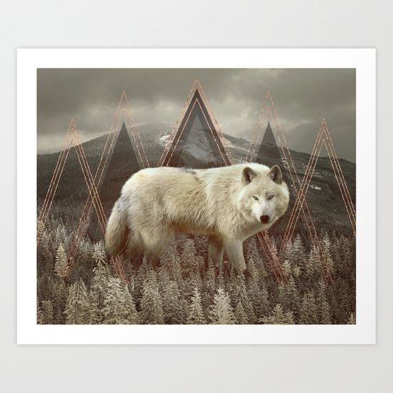 In Wildness Art Print