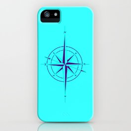 Rememberance, teal iPhone Case