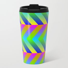 Colorful Gradients Travel Mug