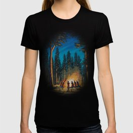 campfire - by phil art guy T-shirt