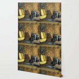 Praktica and Pineapple Wallpaper