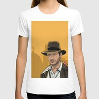 indiana jones T-shirts featuring Indiana by Akyanyme