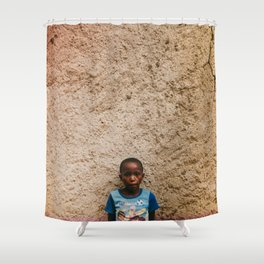 L I O N H E A R T Shower Curtain