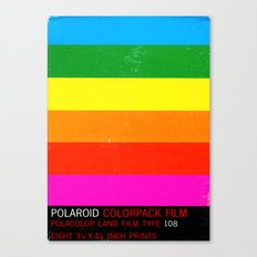 Polaroid 108 Canvas Print
