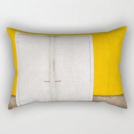 Northwest Cove ice building Rectangular Pillow