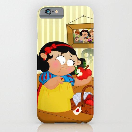 Snow White (apple) iPhone & iPod Case