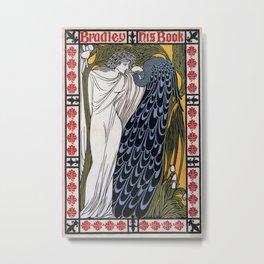 Vintage poster - Bradley - His Book Metal Print