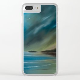 Born on the wind. Clear iPhone Case