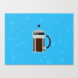 French Press Canvas Print