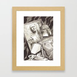 Bounty Achievement Framed Art Print