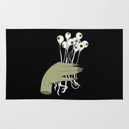 Bouquet of Eyes Rug